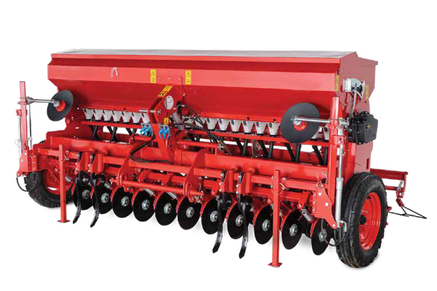 Seed Drill Double Disc (RU)